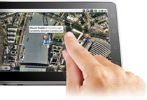 B004ALMF6C maps small ViewSonic gTablet with 10 Multi Touch LCD Screen, Android OS 2.2