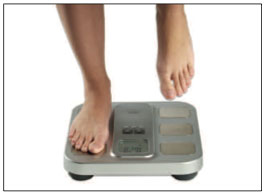 Omron Body Fat Monitor and Scale HBF-400