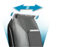 Powerful dual battery system that adjusts to all hair conditions