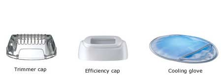 Trimmer cap / Efficiency cap / Cooling glove