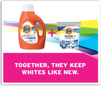 Together, They Keep Whites Like New.