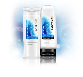 Pantene Pro-V Classic Care Solutions.