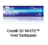 Crest&reg; 3D WHITE&trade; Vivid Toothpaste