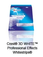 Crest&reg; 3D WHITE&trade; Professional Effects Whitestrips&reg;