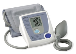 hem432c 1 sm Omron HEM 432C Manual Inflation Blood Pressure Monitor