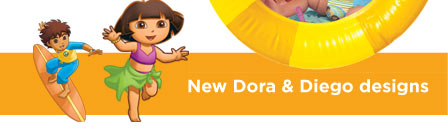 New Dora & Diego Designs