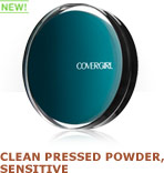 NEW! Clean Pressed Powder, Sensitive