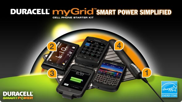 Duracell myGrid Smart Power Simplified