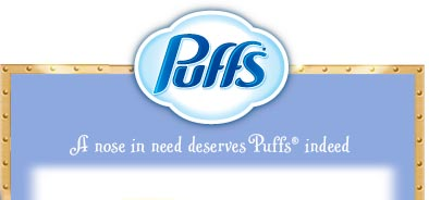 Puffs - A nose in need deserves puffs(R) indeed