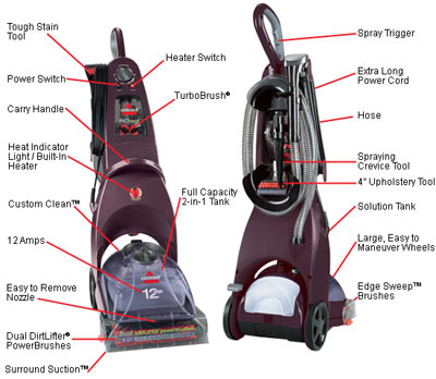 ... Bissell Pro Heat Carpet Cleaner 12 S · Editorial Reviews ...