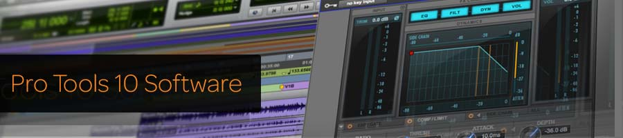 Pro Tools 10 Software