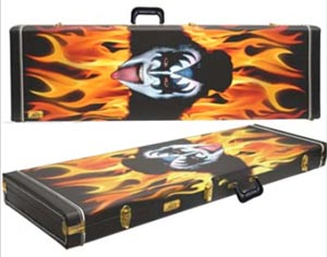 Cort Gene Simmons Axe Bass case