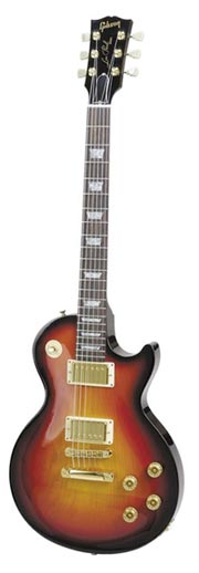 Les Paul Studio in Fireburst with gold hardware