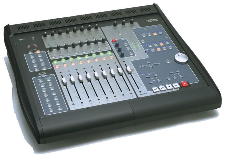 Tascam fw 1884 mixing control surface for pro tools logic for Firewire mixer motorized faders