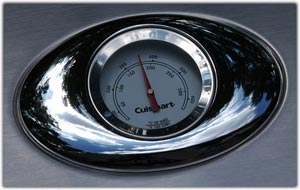 Integrated temperature gauge