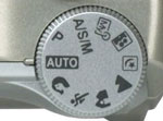 The C-770's mode dial