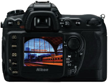 The Nikon D200's chassis