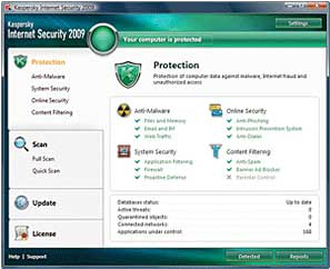 B0018EI3I8 1 Kaspersky Internet Security 2009 (3 User)