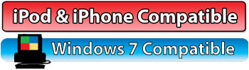iPod & iPhone Compatible