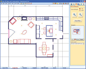 Simply drag and drop Smart RoomBlocksto create your home design or select a plan from 14,000 sample plans included in the software.