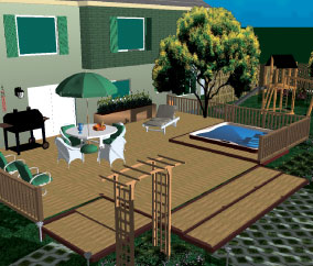 Render 3D models of your outdoor project and break ground with confidence.
