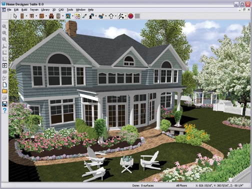 Better homes and gardens home designer suite 8 0 old version software - Home construction design software ...