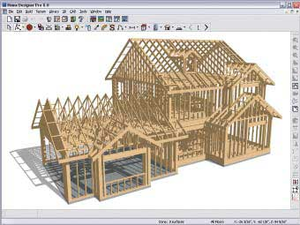 Manual framing tools for fully editable framing, including joists, rafters, trusses, beams, posts and more.