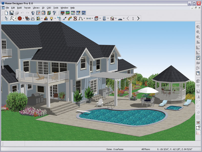 Better homes and gardens home designer pro 8 0 Design a home software