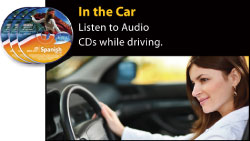 Listen to Audio CDs while driving.