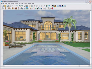 Chief architect architectural home designer 9 0 pc dvd for Easy to use architectural design software