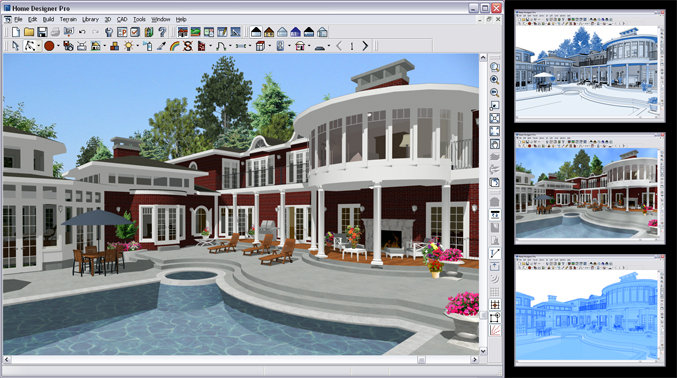 Chief Architect Home Designer Pro 9 0 Video Games