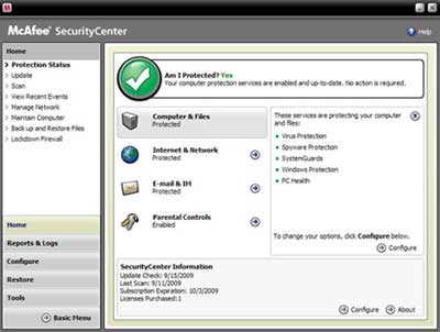 B002GUUO5I 1 McAfee Total Protection 3 User 2010 [OLD VERSION]