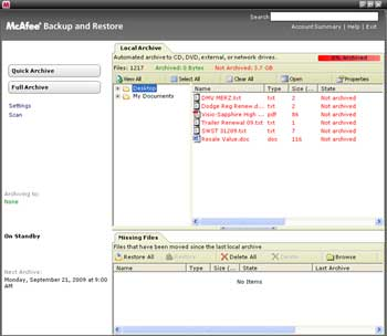 B002GUUO5I 2 McAfee Total Protection 3 User 2010 [OLD VERSION]