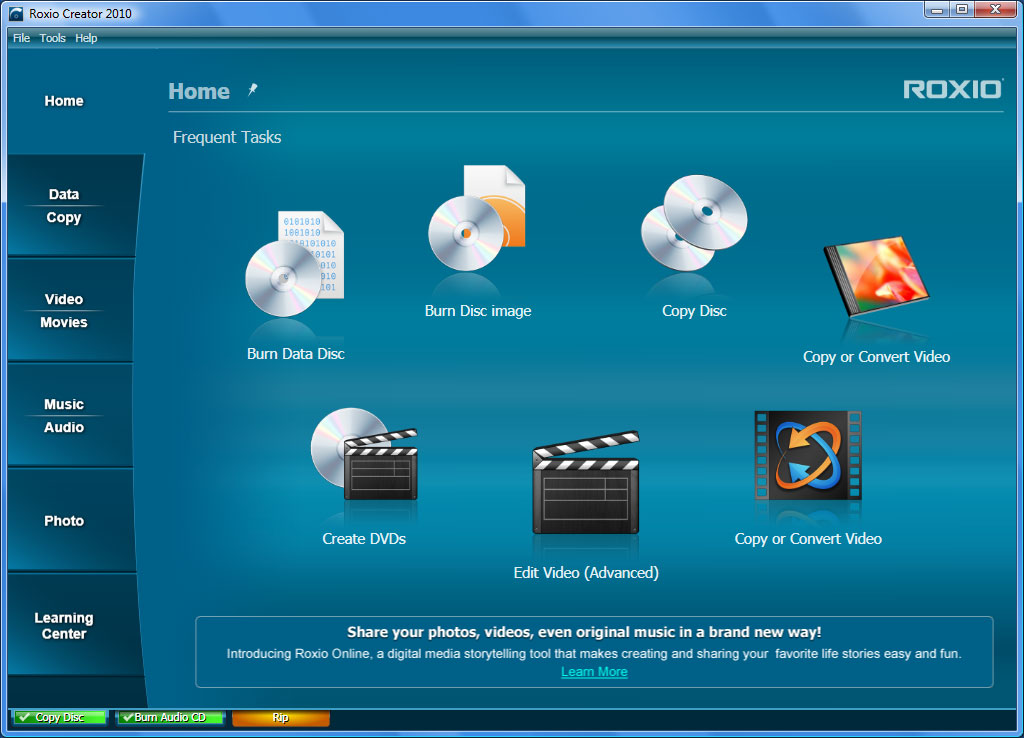Easy CD & DVD Creator 6 is a program developed by Roxio. The most used version is , with over 98% of all installations currently using this version.