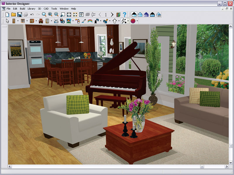 Chief architect interior designer 9 0 Easy interior design software