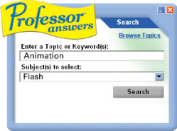 Professor Answers