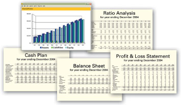 Create impressive financial statements without complicated spreadsheets.