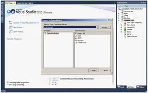 Visual Studio Team Foundation Server 2010