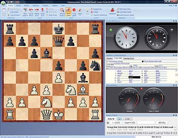 All of the most important chess playing tools at your fingertips.