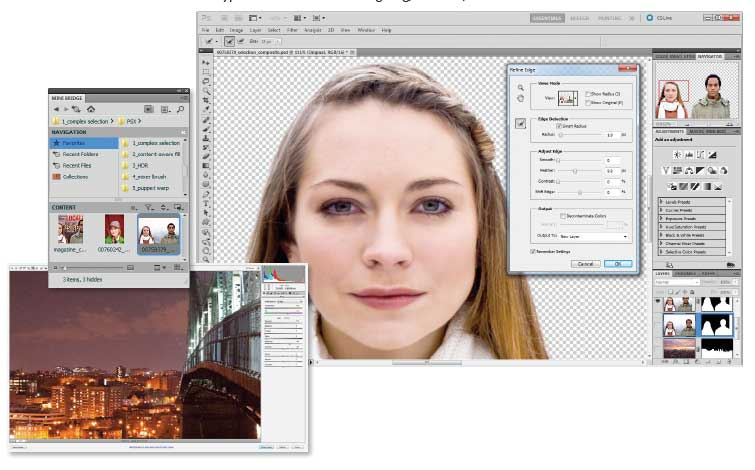 Photoshop CS5 and Photoshop CS5 Extended provide unparalleled editing and