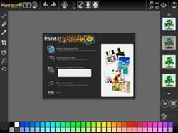 Corel Paint it! Welcome Screen