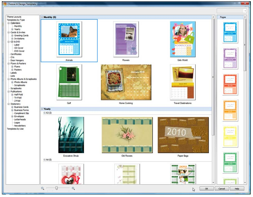PagePlus Essentials has all the templates word processing graphic design