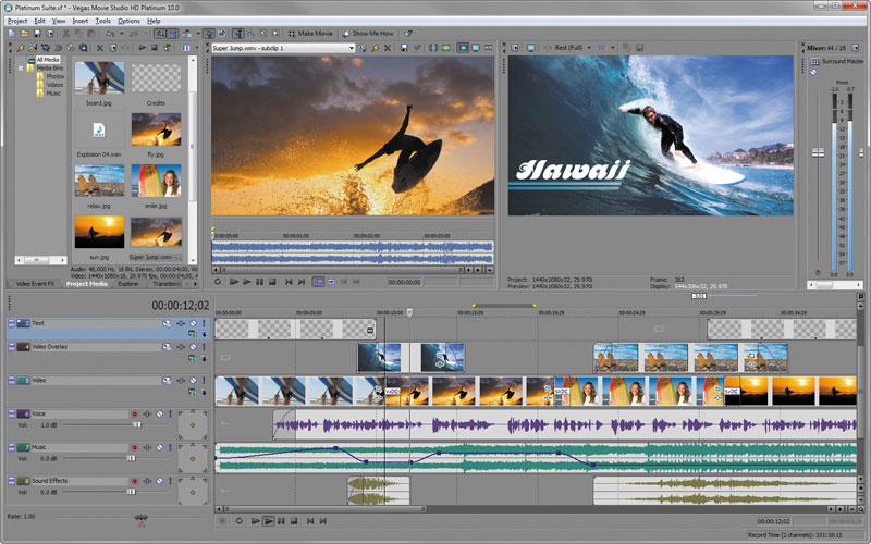 Sony Vegas Movie Studio Hd Platinum 11 Plugins