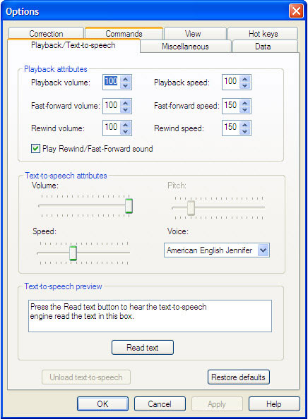 Dragon NaturallySpeaking Home Screenshot