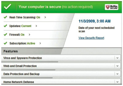 B003VUNY0O 1 McAfee Total Protection 2011 3 User Reviews