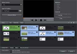 MAGIX Movie Edit Pro 17 Plus AVCHD Import