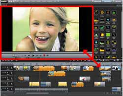 MAGIX Movie Edit Pro 17 Plus AVCHD Interface