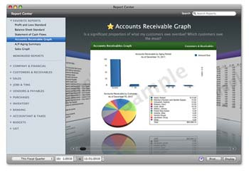 QuickBooks 2011 Mac Screenshot