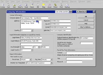 Learning QuickBooks for Windows 2011 Screenshot