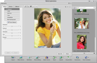 Make and share photo projects and movies